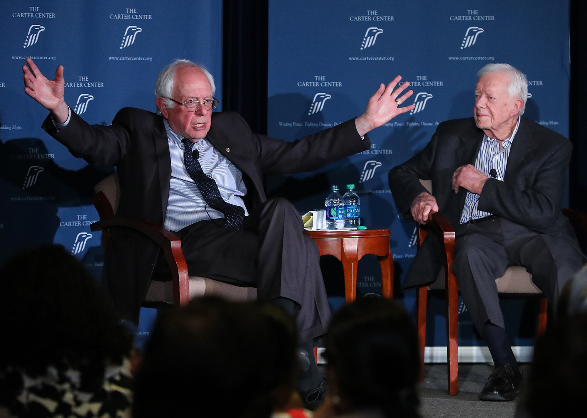 Jimmy Carter on Bernie Sanders: 'Can you all see why I voted for him?'