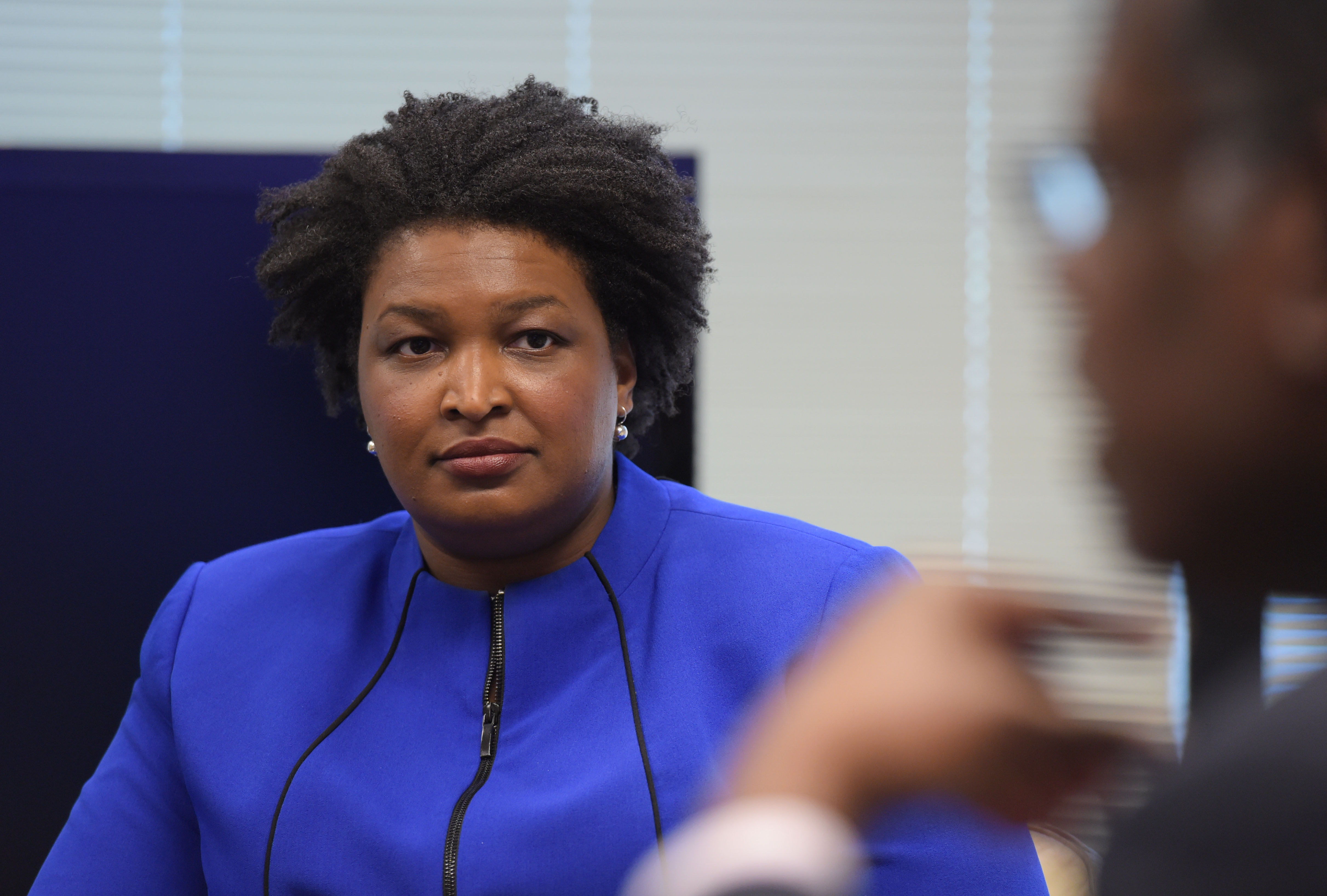 Reading other people's mail: Stacey Abrams resigns as House leader
