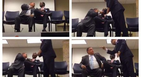 Atlanta Councilman Michael Julian Bond in altercation at debate