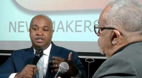 Newsmakers Kwanza Hall Atlanta Mayoral Candidate