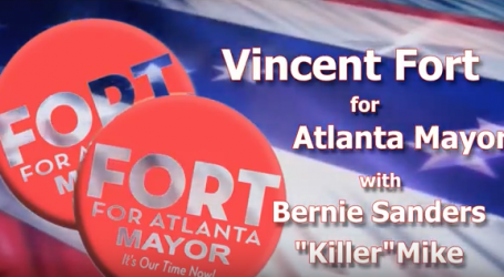 Vincent Fort Rally with Bernie Sanders Killer Mike