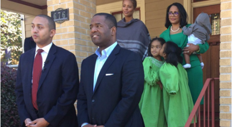 MICHAEL STERLING ENDORSES CEASAR MITCHELL FOR MAYOR
