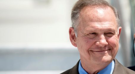 Roy Moore Once Again Leading in Alabama