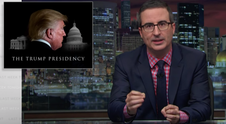 John Oliver Exposes the One Thing Trump Has Been Disturbingly Successful at This Year