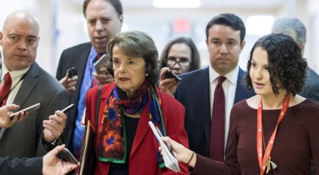 Feinstein Presses Insiders on Trump-Russia Dealings