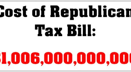 JCT: Even With Dynamic Scoring, Republican Tax Bill Will Still Cost $1 Trillion