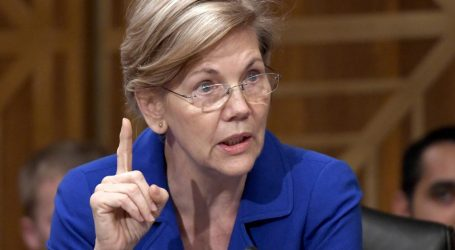 Elizabeth Warren Calls Out Trump's Meddling in the Agency She Created