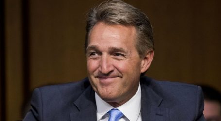 Jeff Flake Makes Meaningless Gesture Three Days After Voting for Despised Tax Bill
