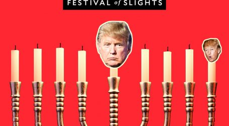 Festival of Slights, the First Night: Trump's Book of Hitler Speeches