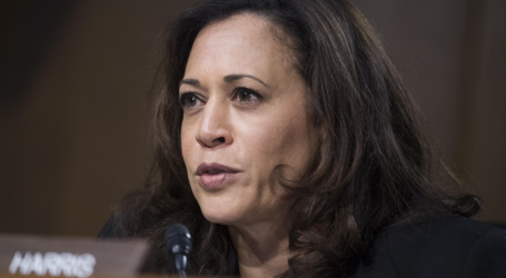Kamala Harris Calls on Trump to Resign Over Sexual Harassment Allegations