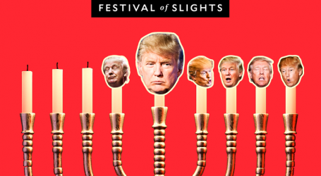 Festival of Slights, the Fifth Night: Trump's Closing Argument to Voters