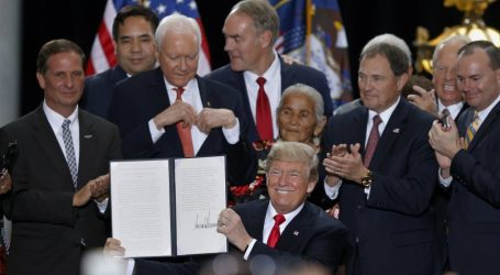 Trump's Message to Tribes: Let Them Eat Yellowcake
