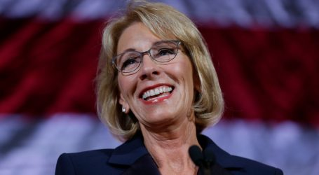 Betsy DeVos Is Being Sued for Rolling Back Campus Protections for Sexual Assault Victims