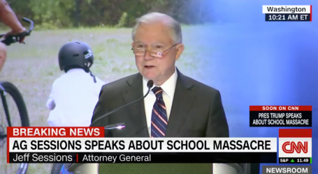 Jeff Sessions Just Tried to Blame Florida School Shooting on Gang Violence