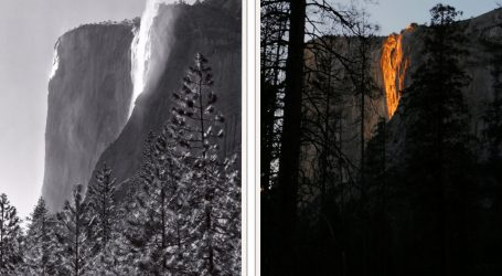 "Why Did No One Notice Yosemite's Horsetail ""Firefall Effect"" Before 1973?"