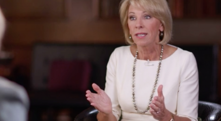 Betsy DeVos Gives a Master Class on How to Bomb Basic Questions About Your Job