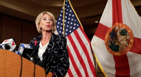 Betsy DeVos Wants to Eliminate the Very Programs She Thinks Will Help Stop School Violence