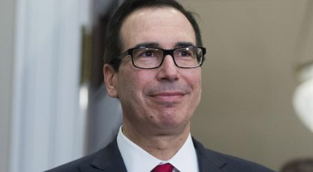 Steve Mnuchin Spent Nearly $1 Million in Taxpayer Dollars on Eight Flights