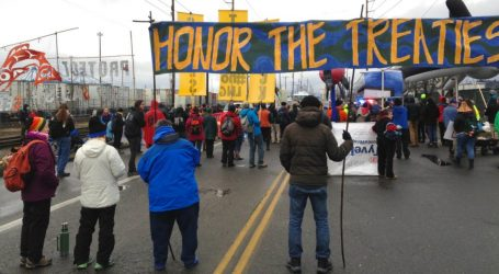 Columbia River Tribes Step Up Battle Against Fossil Fuels