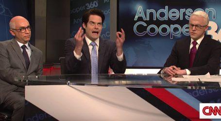 "John Goodman, Bill Hader, and Fred Armisen Return to ""SNL"" to Skewer Trump Chaos"