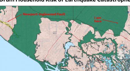 California Introduces Handy Earthquake Map