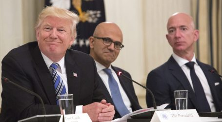 Trump vs. Amazon In Exactly 100 Words