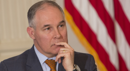 Scott Pruitt's Overworked Security Team Has Cost Taxpayers $3 Million