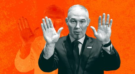 Here's Why Scott Pruitt Still Has a Job