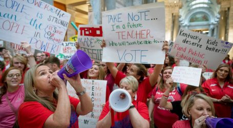 Kentucky's GOP Governor Says Teacher Protests Enable Child Sexual Assault