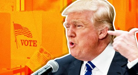 Here's How Trump Is Rigging Democracy at the Voting Booth