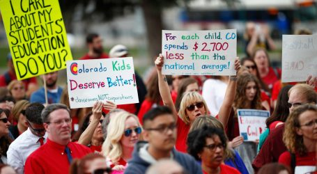 Republicans Want to Throw the Book at Colorado Teachers Getting Ready to Strike