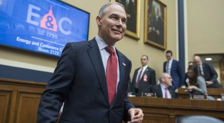 Scott Pruitt Takes All the Credit and None of the Blame for His Scandal-Filled Time at the EPA
