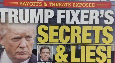 This National Enquirer Cover About Michael Cohen Is Amazing