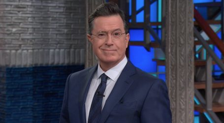 "Stephen Colbert Revives ""Stephen Colbert"" to Defend Michelle Wolf"