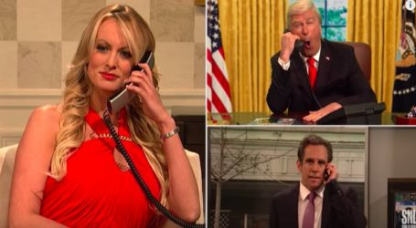 Stormy Daniels on Saturday Night Live Is Absolutely Perfect