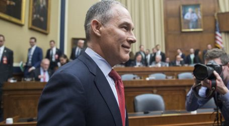 Scott Pruitt Is Trying to Fix His Ethical Nightmare With…Another Ethical Nightmare