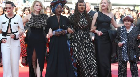 Cate Blanchett Just Led a Powerful Silent Protest for Gender Equity on the Cannes Red Carpet