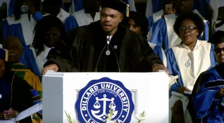 Chance the Rapper's Commencement Speech Is Exactly What We Needed This Weekend