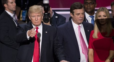 Trump Blames FBI for Not Warning Him About Paul Manafort