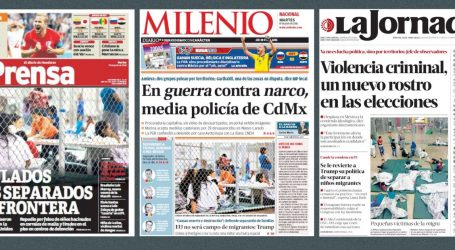 Latin American Newspapers Have No Trouble Calling Out Trump for Keeping Children in Cages
