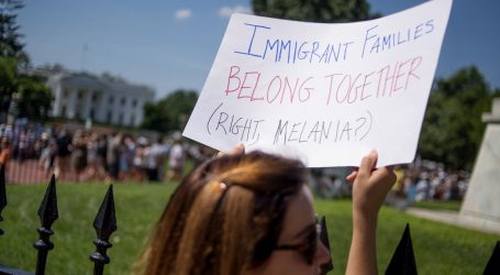 Check Out These Amazing Signs From Today's Massive Rallies to Protest Family Separation