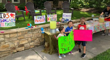 What Patriotism Looks Like: A 6-Year-Old Raised $13,000 For Migrant Kids