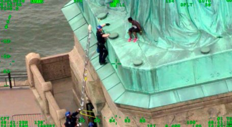 Statue of Liberty Climber Speaks Out Against Trump Immigration Policy
