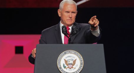 Pence Stumps for Candidate Who Said He Would Personally Round Up and Deport Immigrants