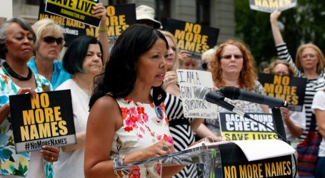 Gun Control Activist Lucy McBath Wins Democratic Nomination for Congress