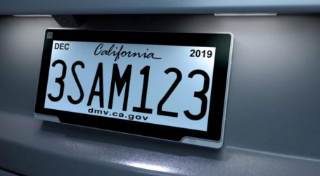 Silicon Valley Finally Addresses Our License Plate Crisis