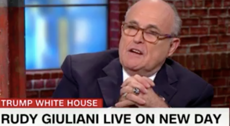 Rudy Giuliani Is Now Claiming Collusion May Not Be a Crime