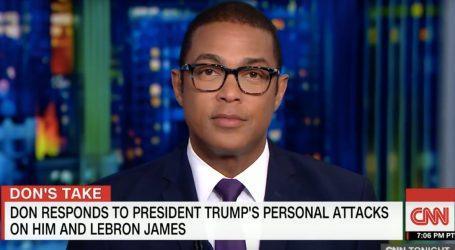 CNN Anchor Don Lemon Calls Trump Racist