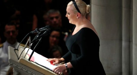Meghan McCain Disses Trump in Her Father's Eulogy