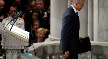 Fox & Friends Outraged Bush and Obama Praised Decency at McCain's Funeral